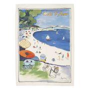 L'Ensoleillade -  La Baie Des Anges Tea Towel