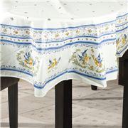 L'Ensoleillade - Moustiers Bleu Round Tablecloth 180cm
