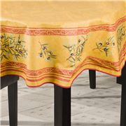 L'Ensoleillade - Clos Des Oliviers T/Cloth Rnd Yellow 180cm