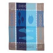 L'Ensoleillade - Grand Bleu Bleu Tea Towel