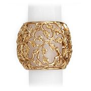 L'objet - Lorel Gold Napkin Ring Set 4pce