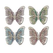 L'objet - Jewelled Butterfly Napkin Ring Set 4pce