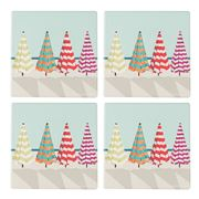 Thirstystone - Beach Umbrellas Coaster Set Of 4