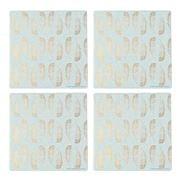 Thirstystone - Glam Feathers Coaster Set 4pce