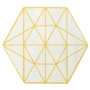Old Hollywood - Hexagon Marble Trivet