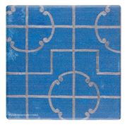 Thirstystone - Moroccan Tile Coaster Blue I