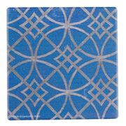 Thirstystone - Blue Moroccan Tile IV Coaster