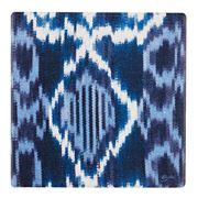 Thirstystone - Indigo Ikat Coaster