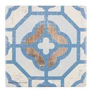 Thirstystone - Shanghai Tile Coaster Blue
