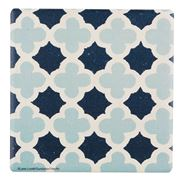 Thirstystone - Blue Lattice Pattern Coaster