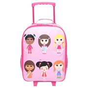 Bobble Art - Paper Doll Wheelie Travel Bag