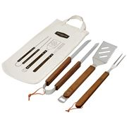 Davis & Waddell - Maverick Acacia Wood Barbecue Tool Set 3pc