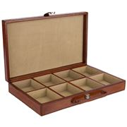 Rossini Leather - Leather Cufflink Box