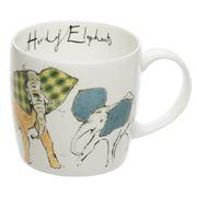 Hudson & Middleton - Anna Wright Herd Of Elephants Mug