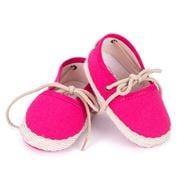Mon Petit Chausson - Dictine Fuchsia Shoes 3-6 Months