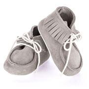 Mon Petit Chausson - Dolmen Grey Shoes 3-6 Months