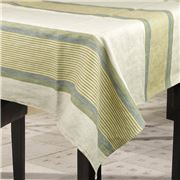TRP Charvet - Nappe Alizee Olive Tablecloth 170 x 275cm