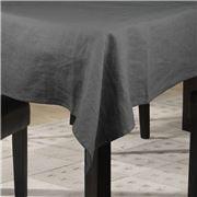 TRP Charvet - Nappe Initiale Ardoise Tablecloth 175x280cm