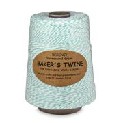 Regency - Bakers Green & White Twine Cone