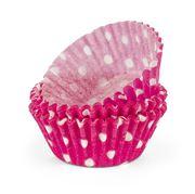Regency - Pink & White Polka Dot Mini Baking Cups 40pce