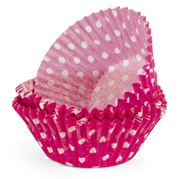 Regency - Pink & White Polka Dot Baking Cups 40pce