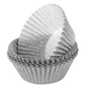 Regency - Matte Silver Baking Cups 40pce