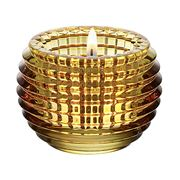 Baccarat - Eye Votive Candle Holder Yellow