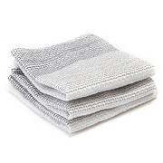 Full Circle - Tidy Greyscale Dish Cloth Set 3pce