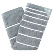 Full Circle - Stick 'Em Grey Kitchen Towel