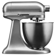 KitchenAid - Artisan Mini Contour Silver Stand Mixer
