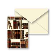 Tassotti - Old Books Notecard & Envelope