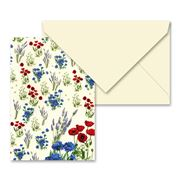 Tassotti - Field Flowers Notecard & Envelope