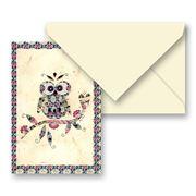 Tassotti - Paper Owl Notecard & Envelope