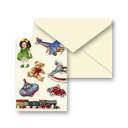 Tassotti - Miniature Vintage Toys Notecard & Envelope
