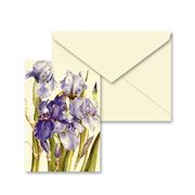 Tassotti - Miniature Blue Iris Notecard & Envelope