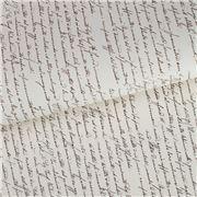 Tassotti - Script Wrapping Paper Set 6pce 50x70cm