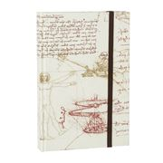 Tassotti - Hard Cover A6 Leonardo Da Vinci Notebook