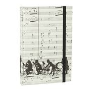 Tassotti - Hard Cover A6 Orchestra Notebook