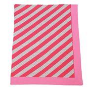 D Lux - Koo Diagonal Knit Bassinet Pink