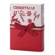 Boz Christmas - Retro Red Chocolate Box