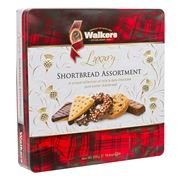 Walkers - Luxury Chocolate Shortbread Assortment Tin 300g