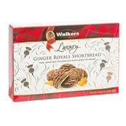Walkers - Luxury Ginger Royals Shortbread