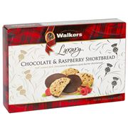 Walkers - Luxury Chocolate & Raspberry Shortbread 160g