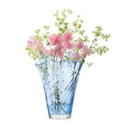 LSA - Chiffon Cornflower Optic Vase