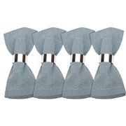 Madras - Jetty Soft Blue Napkin Set 4pce