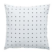 Milk & Sugar - Black & Gold Pegboard Cushion