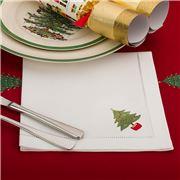Christmas Napery - Christmas Tree Napkin