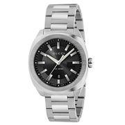 Gucci - GG2570 LG Black Dial S/Steel Men's Watch 40mm