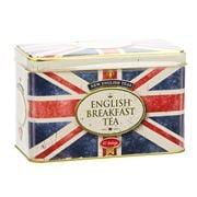 New English Teas - Union Jack English B/fast Tea Tin 40 Bags