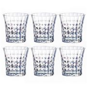 Cristal D'Arques - Lady Diamond Double Old Fashioned Set 6pc